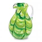 Кувшин стеклянный зеленый